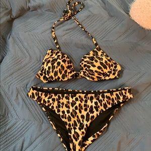 Cheetah print Victoria's Secret bikini